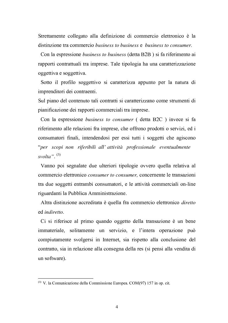 Anteprima della tesi: I contratti telematici e la tutela del consumatore, Pagina 3