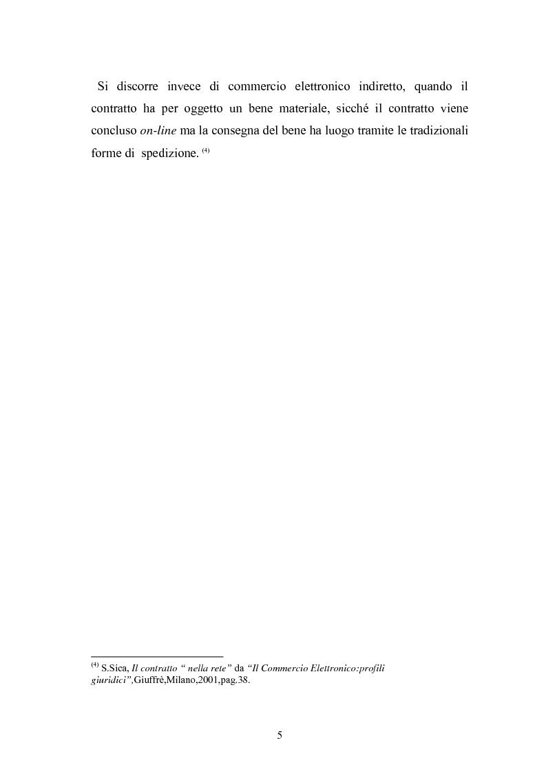 Anteprima della tesi: I contratti telematici e la tutela del consumatore, Pagina 4
