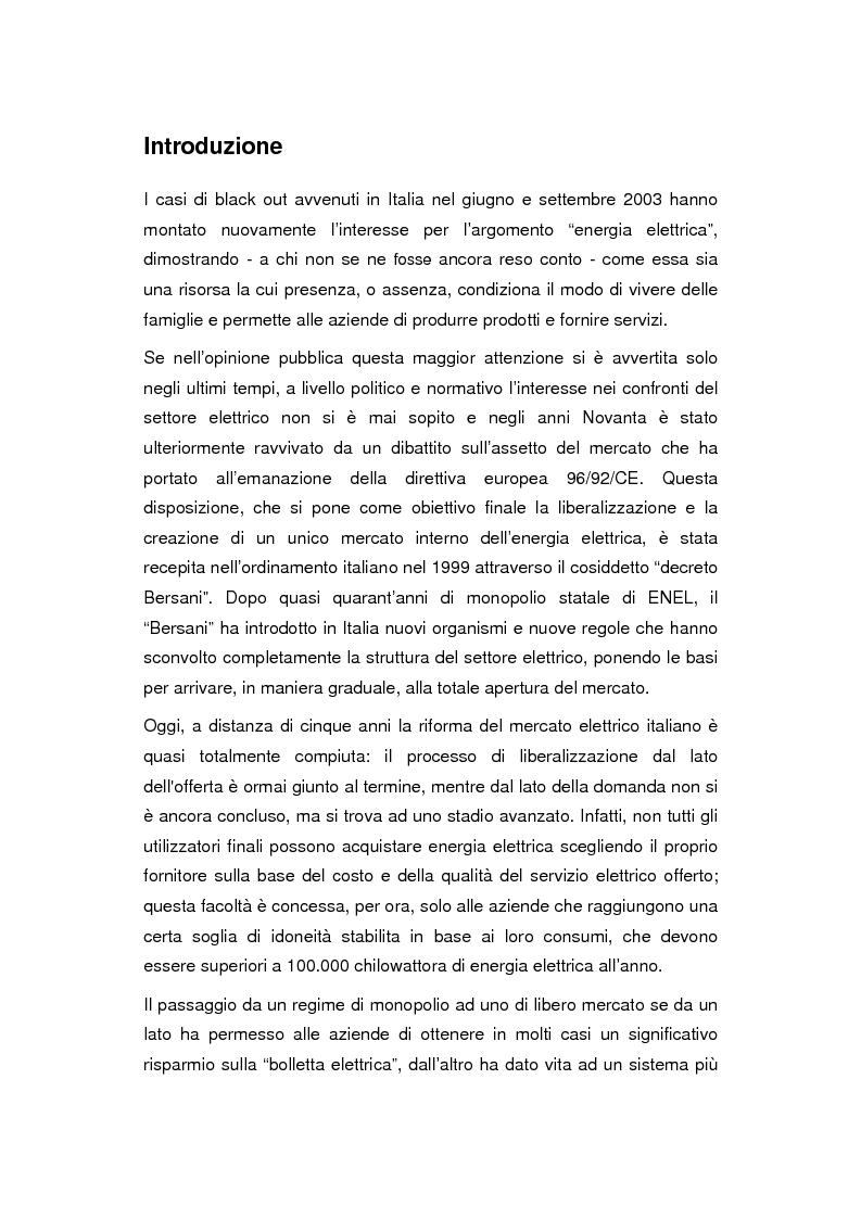 Anteprima della tesi: Accendere la comunicazione dei consorzi elettrici. Il caso V.E.R.A. Energia., Pagina 1