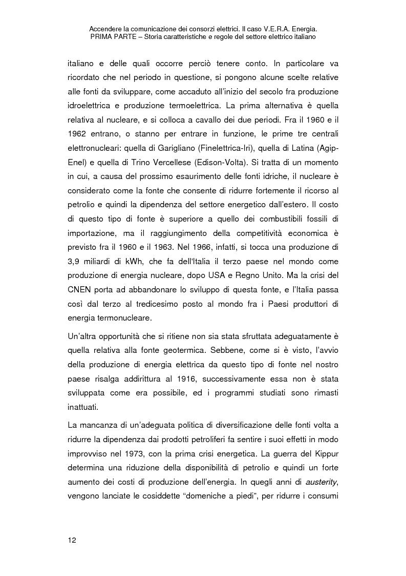 Anteprima della tesi: Accendere la comunicazione dei consorzi elettrici. Il caso V.E.R.A. Energia., Pagina 15