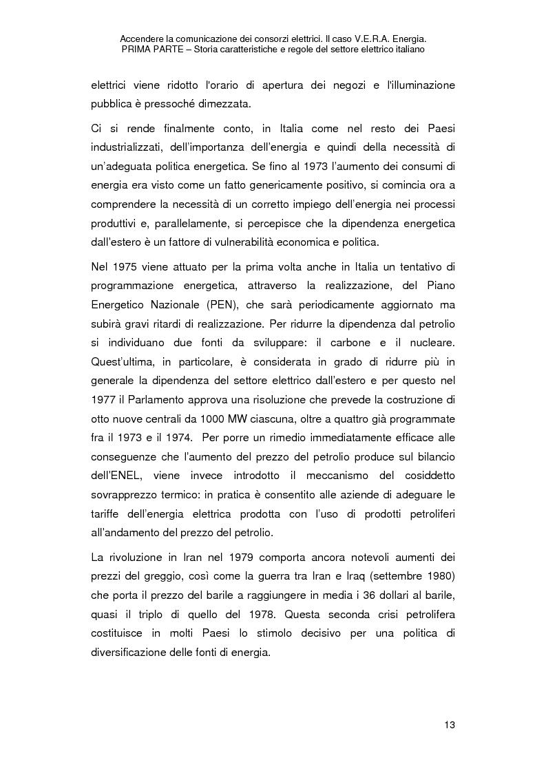 Anteprima della tesi: Accendere la comunicazione dei consorzi elettrici. Il caso V.E.R.A. Energia., Pagina 16