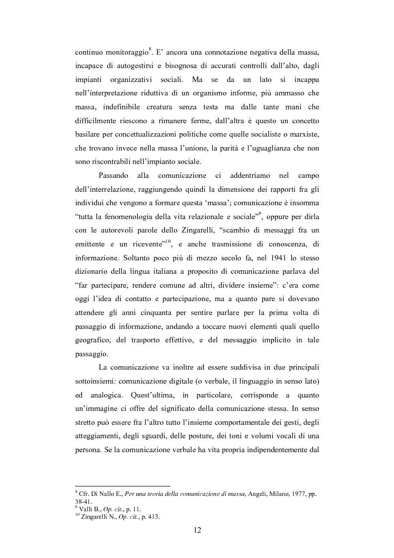 Anteprima della tesi: Il rapporto sinergico fra media e spettacolo: il caso esemplare dei Beatles nell'Inghilterra degli anni Sessanta, Pagina 10
