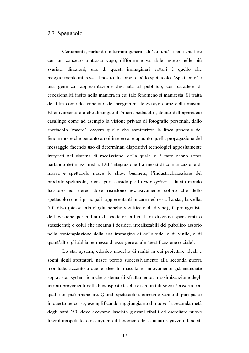 Anteprima della tesi: Il rapporto sinergico fra media e spettacolo: il caso esemplare dei Beatles nell'Inghilterra degli anni Sessanta, Pagina 15