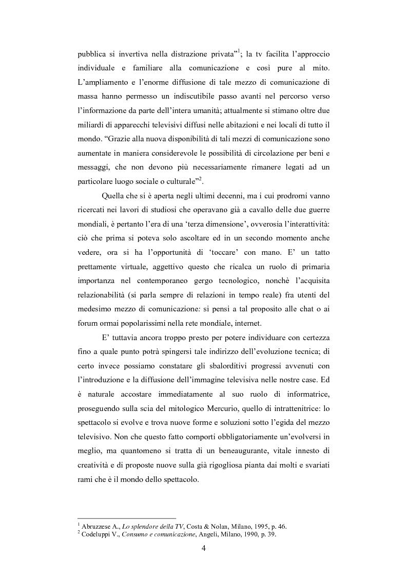 Anteprima della tesi: Il rapporto sinergico fra media e spettacolo: il caso esemplare dei Beatles nell'Inghilterra degli anni Sessanta, Pagina 2