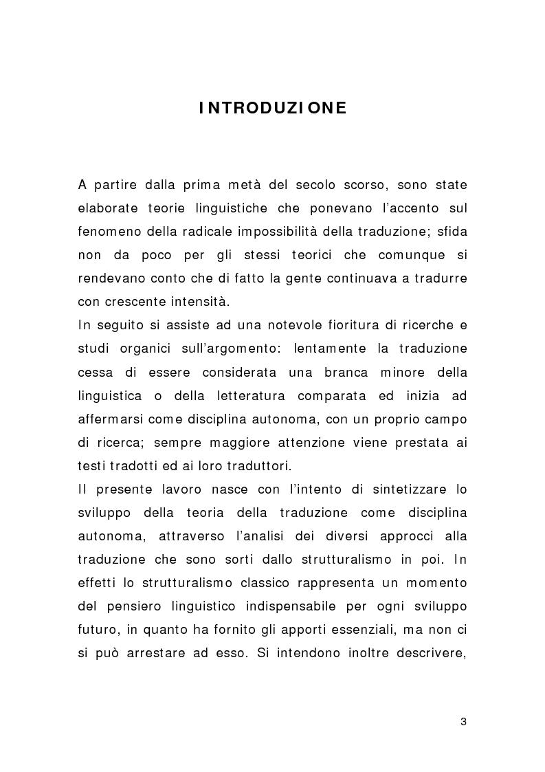 Anteprima della tesi: Traduzione e pubblicità, Pagina 1