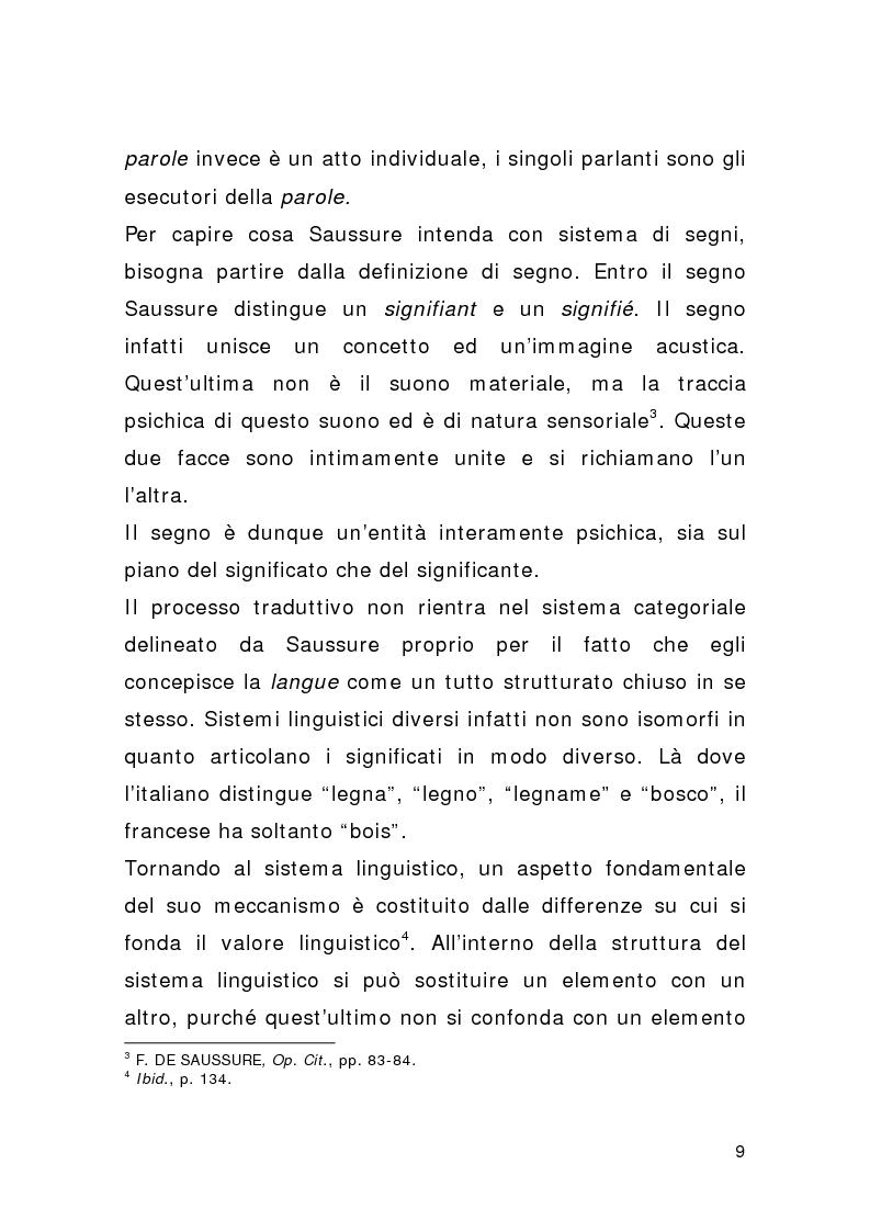 Anteprima della tesi: Traduzione e pubblicità, Pagina 7
