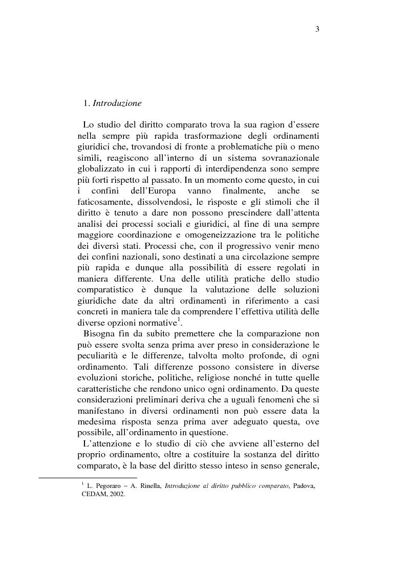 Anteprima della tesi: Profili comparatistici della disciplina del velo islamico, con particolare riferimento al caso francese, Pagina 1