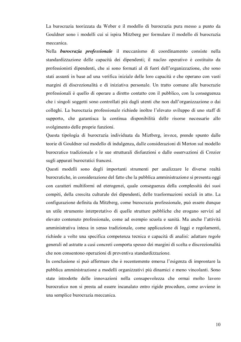 Anteprima della tesi: Comunicazione pubblica e customer satisfaction. Il caso dello Sportello del Cittadino di Spoleto, Pagina 13