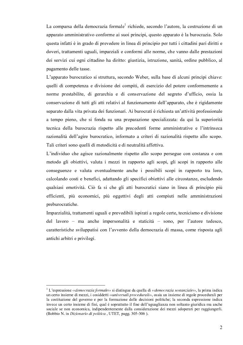 Anteprima della tesi: Comunicazione pubblica e customer satisfaction. Il caso dello Sportello del Cittadino di Spoleto, Pagina 5