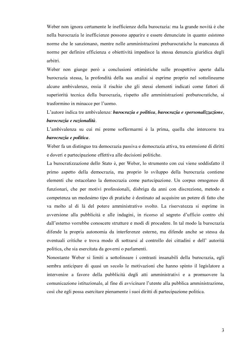 Anteprima della tesi: Comunicazione pubblica e customer satisfaction. Il caso dello Sportello del Cittadino di Spoleto, Pagina 6