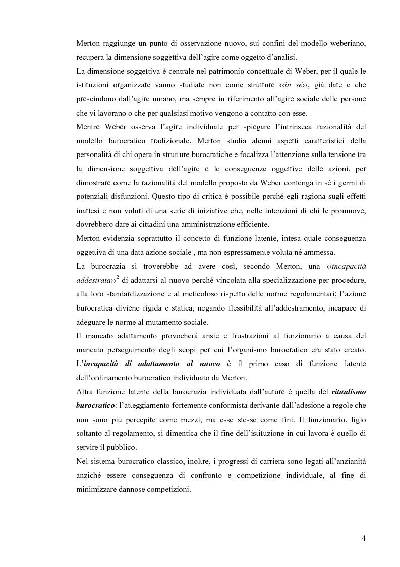 Anteprima della tesi: Comunicazione pubblica e customer satisfaction. Il caso dello Sportello del Cittadino di Spoleto, Pagina 7
