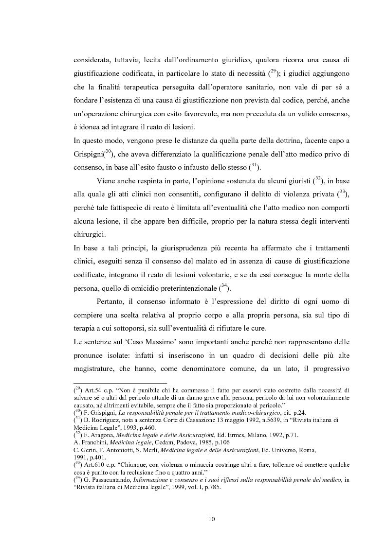 Anteprima della tesi: Il consenso informato nelle ASL della Toscana, Pagina 10