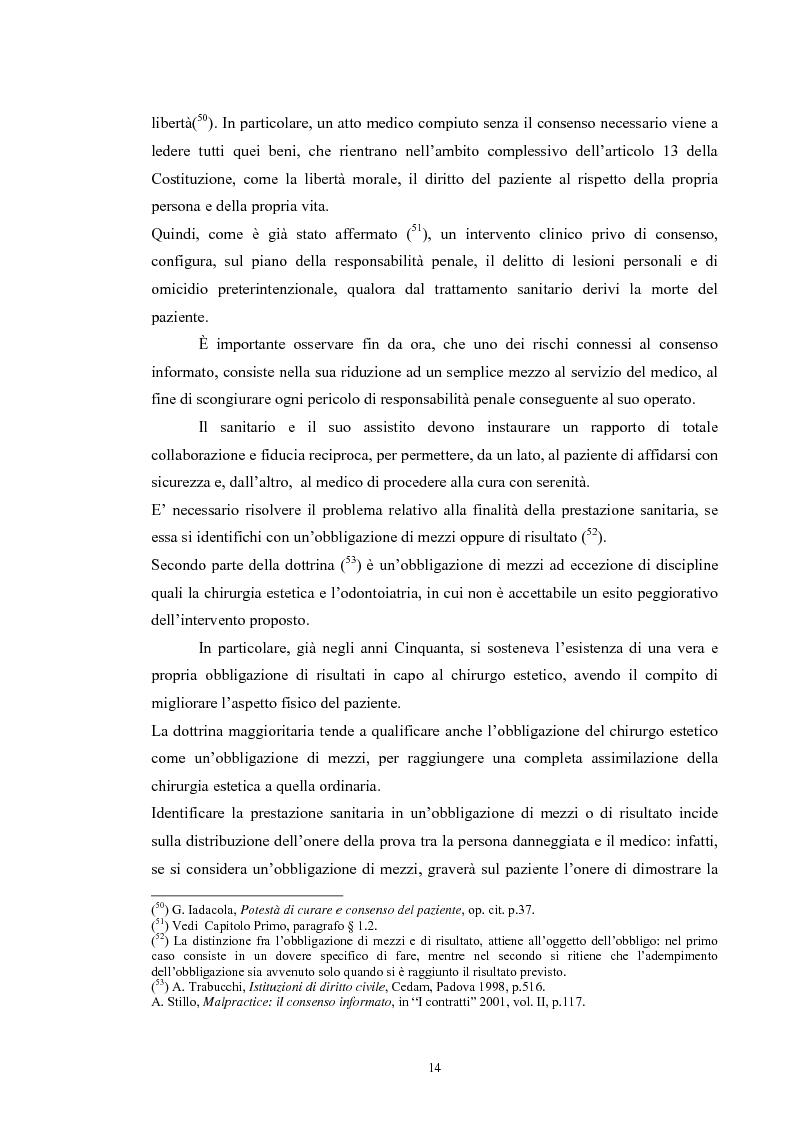 Anteprima della tesi: Il consenso informato nelle ASL della Toscana, Pagina 14