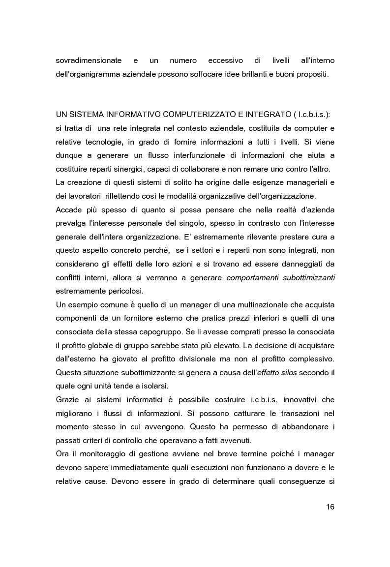Anteprima della tesi: Contabilità direzionale e controllo di gestione nelle imprese ad elevato contenuto innovativo, Pagina 13