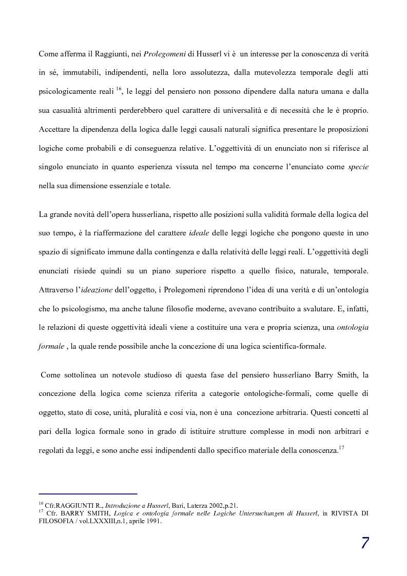 Anteprima della tesi: Intorno alla fenomenologia realistica di D.von Hildebrand, Pagina 4