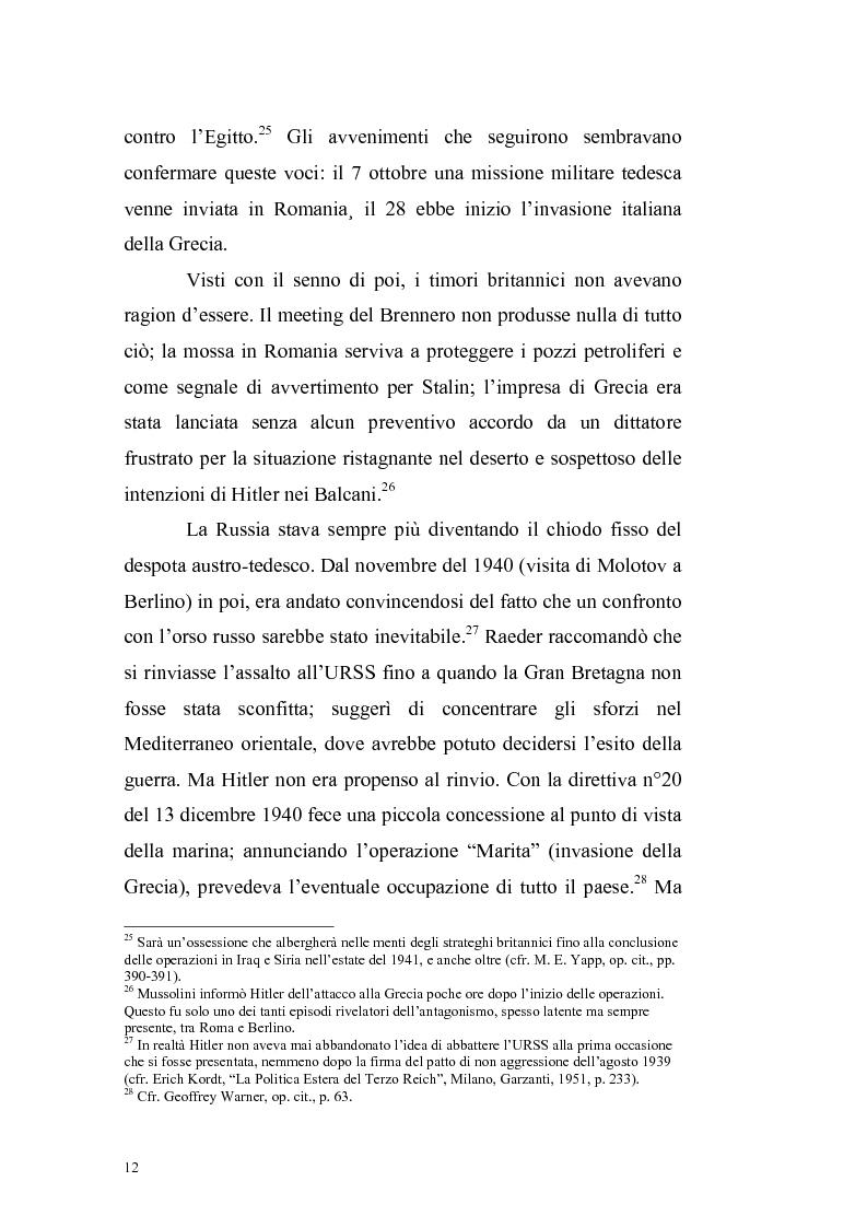 Anteprima della tesi: La crisi irachena dell'aprile-maggio 1941 nella politica della Seconda Guerra Mondiale, Pagina 10