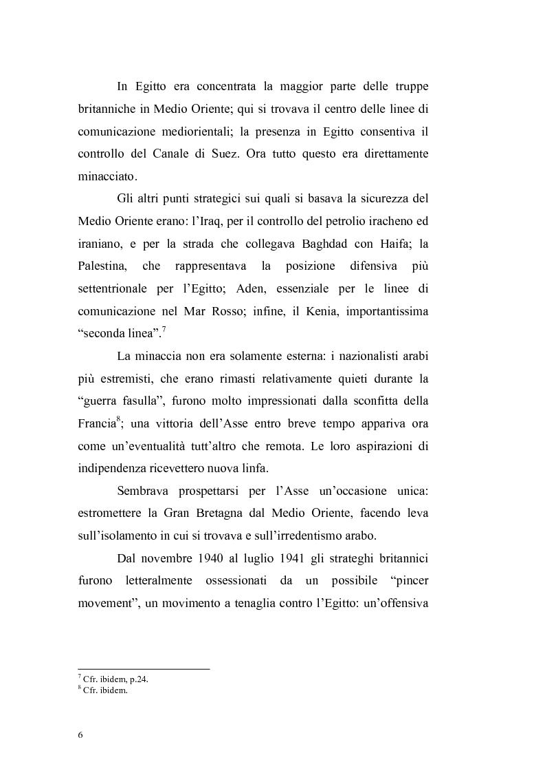 Anteprima della tesi: La crisi irachena dell'aprile-maggio 1941 nella politica della Seconda Guerra Mondiale, Pagina 4