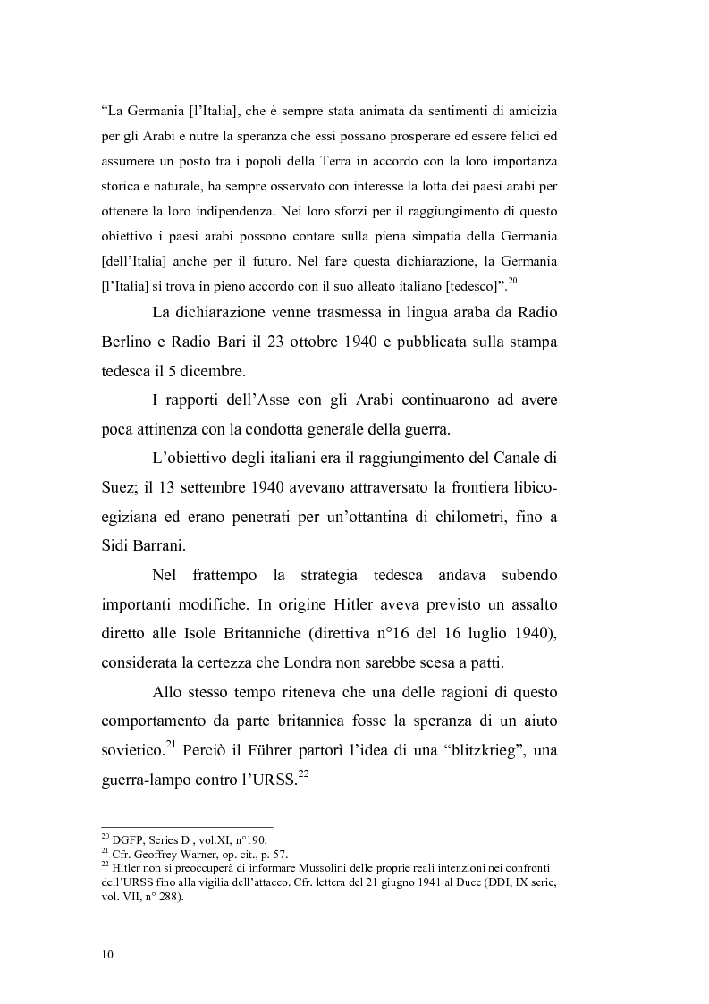 Anteprima della tesi: La crisi irachena dell'aprile-maggio 1941 nella politica della Seconda Guerra Mondiale, Pagina 8