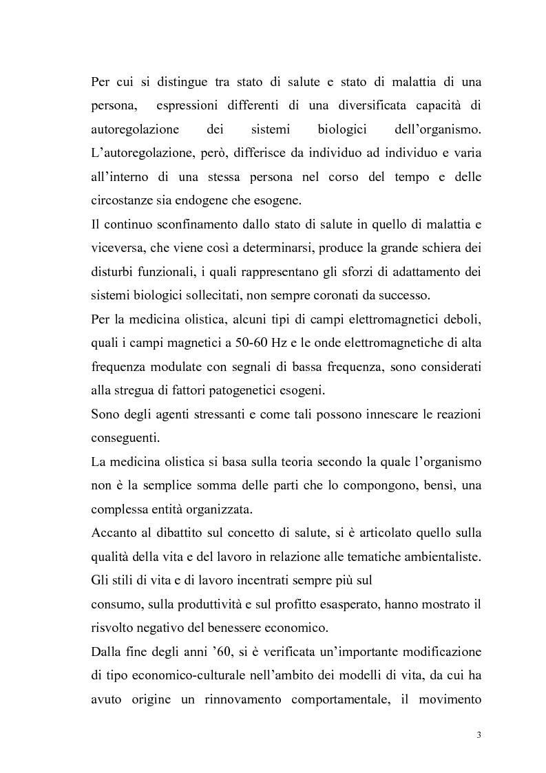 Anteprima della tesi: La risonanza naturale della cavità terrestre: possibili effetti sulla fisiopatologia umana, Pagina 2