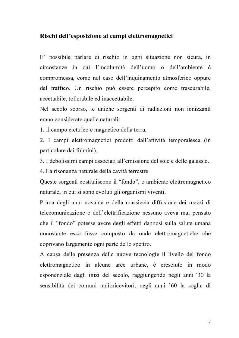 Anteprima della tesi: La risonanza naturale della cavità terrestre: possibili effetti sulla fisiopatologia umana, Pagina 6