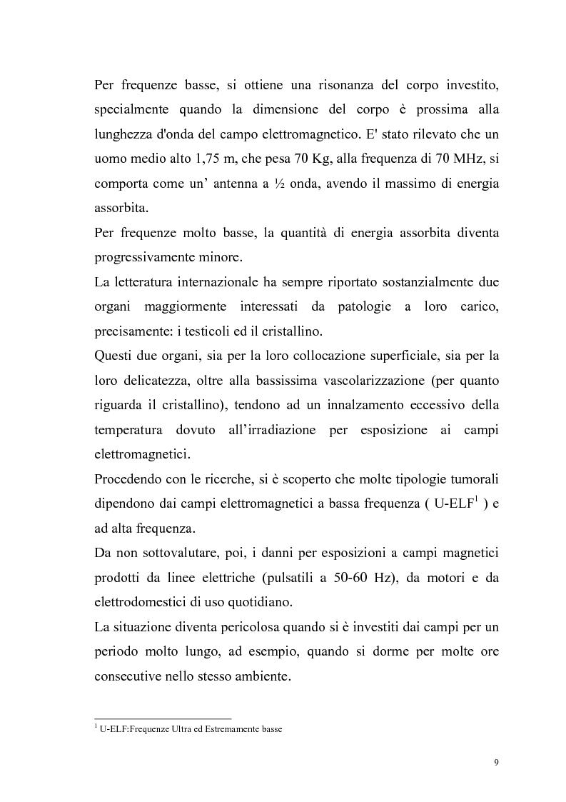 Anteprima della tesi: La risonanza naturale della cavità terrestre: possibili effetti sulla fisiopatologia umana, Pagina 8