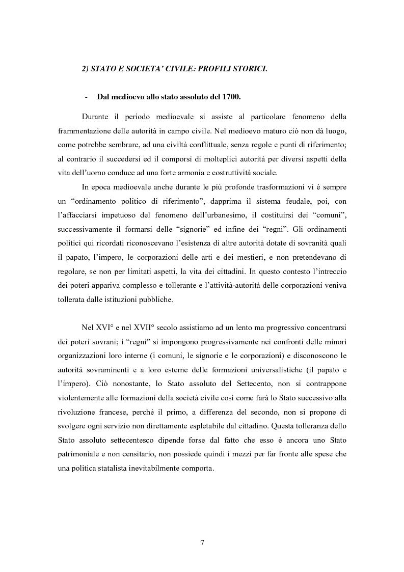 Anteprima della tesi: Le associazioni di promozione sociale, Pagina 3
