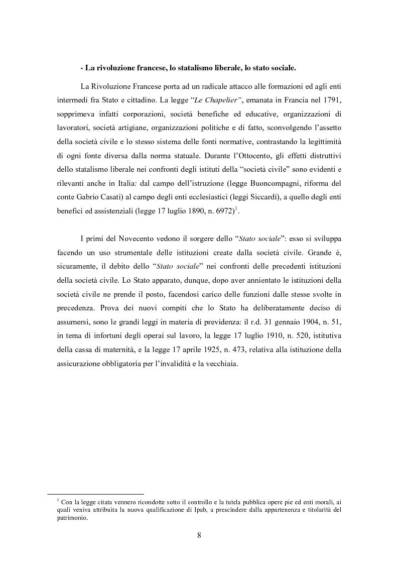 Anteprima della tesi: Le associazioni di promozione sociale, Pagina 4