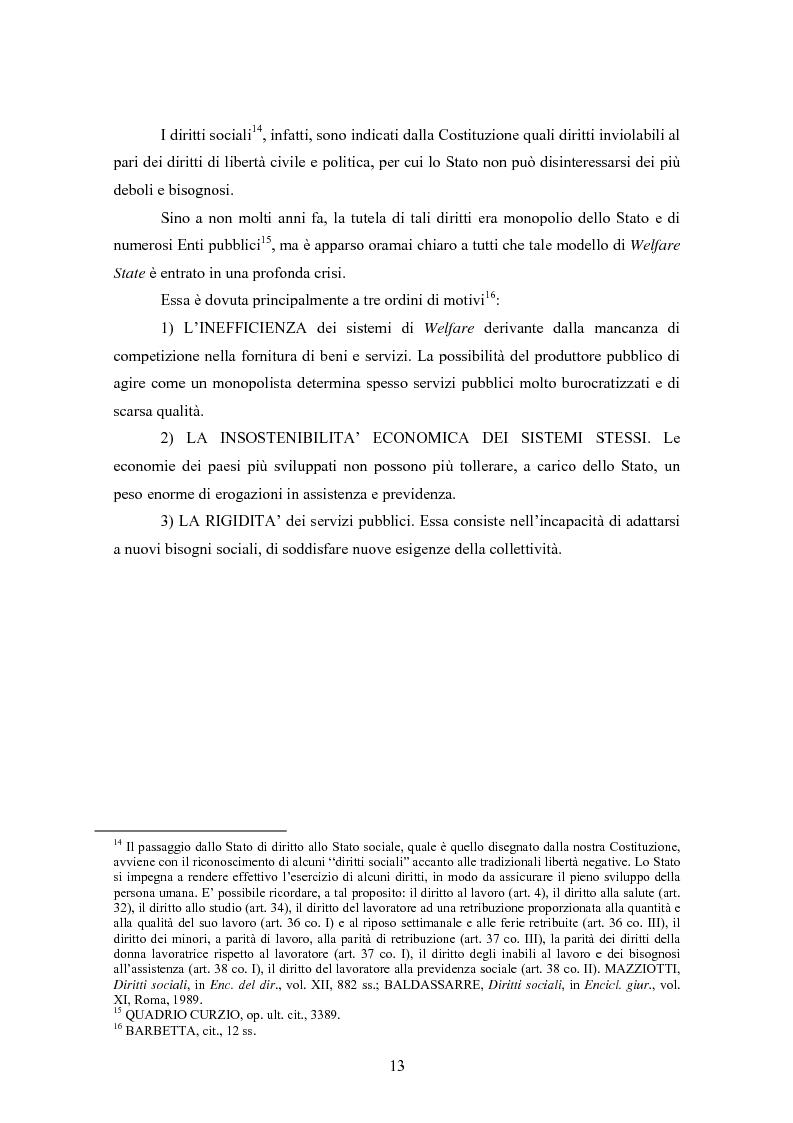 Anteprima della tesi: Le associazioni di promozione sociale, Pagina 9