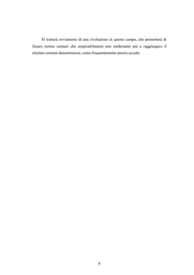 Anteprima della tesi: La disciplina dell'immigrazione in Italia nell'odierno contesto europeo, Pagina 6