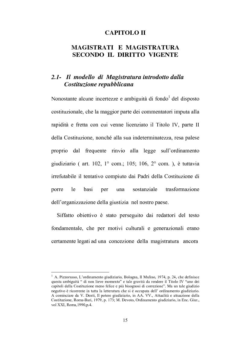 Anteprima della tesi: Organizzazione della giustizia e indipendenza del giudice, Pagina 12
