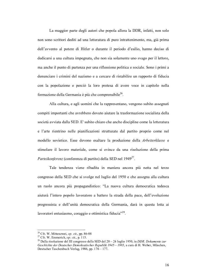 Anteprima della tesi: Letteratura e politica: il dibattito intellettuale nella Germania della ''svolta'', Pagina 14
