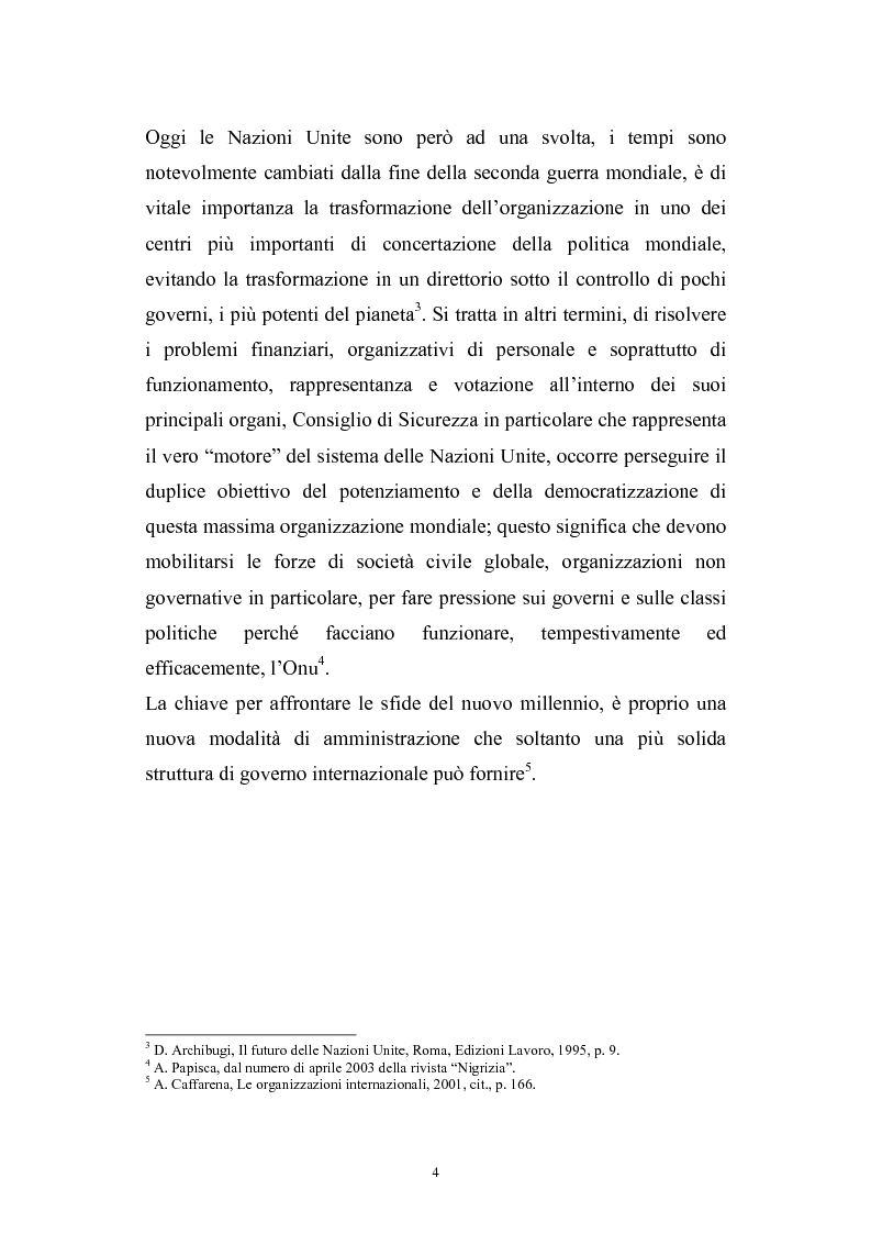 Anteprima della tesi: La riforma del Consiglio di Sicurezza delle Nazioni Unite, Pagina 2