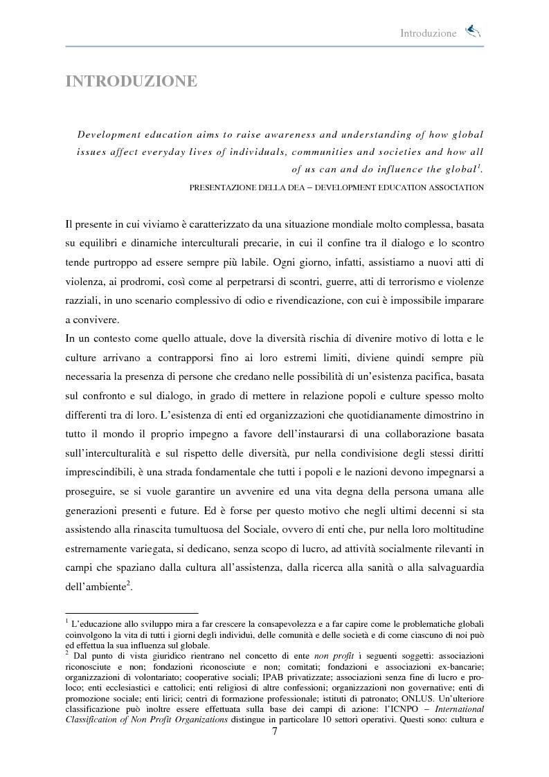Anteprima della tesi: Forme di collaborazione interculturale. Obiettivi e performance della Fondazione ''Aiutare i bambini'', Pagina 1