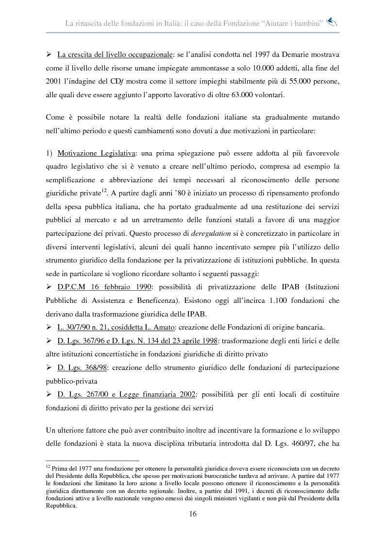 Anteprima della tesi: Forme di collaborazione interculturale. Obiettivi e performance della Fondazione ''Aiutare i bambini'', Pagina 10