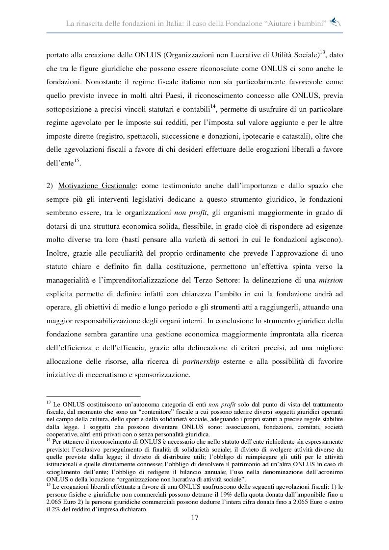 Anteprima della tesi: Forme di collaborazione interculturale. Obiettivi e performance della Fondazione ''Aiutare i bambini'', Pagina 11