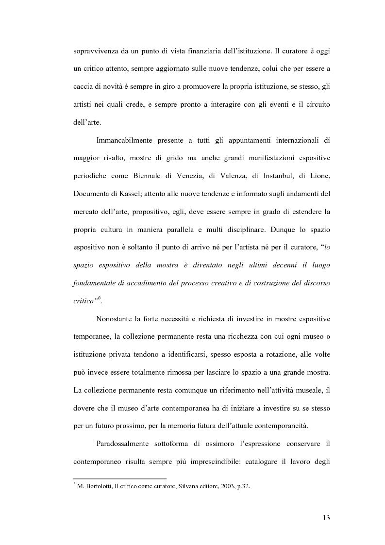 Anteprima della tesi: Fondazioni per l'arte contemporanea: verso la definizione di un modello gestionale, Pagina 11