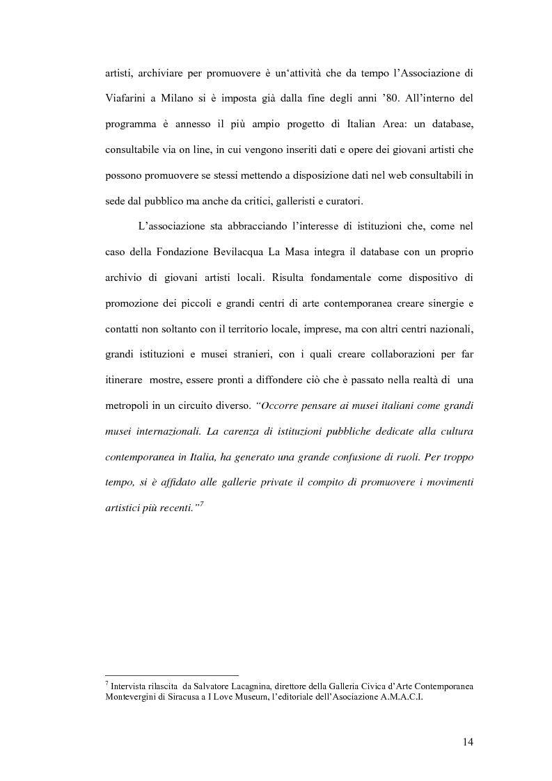 Anteprima della tesi: Fondazioni per l'arte contemporanea: verso la definizione di un modello gestionale, Pagina 12