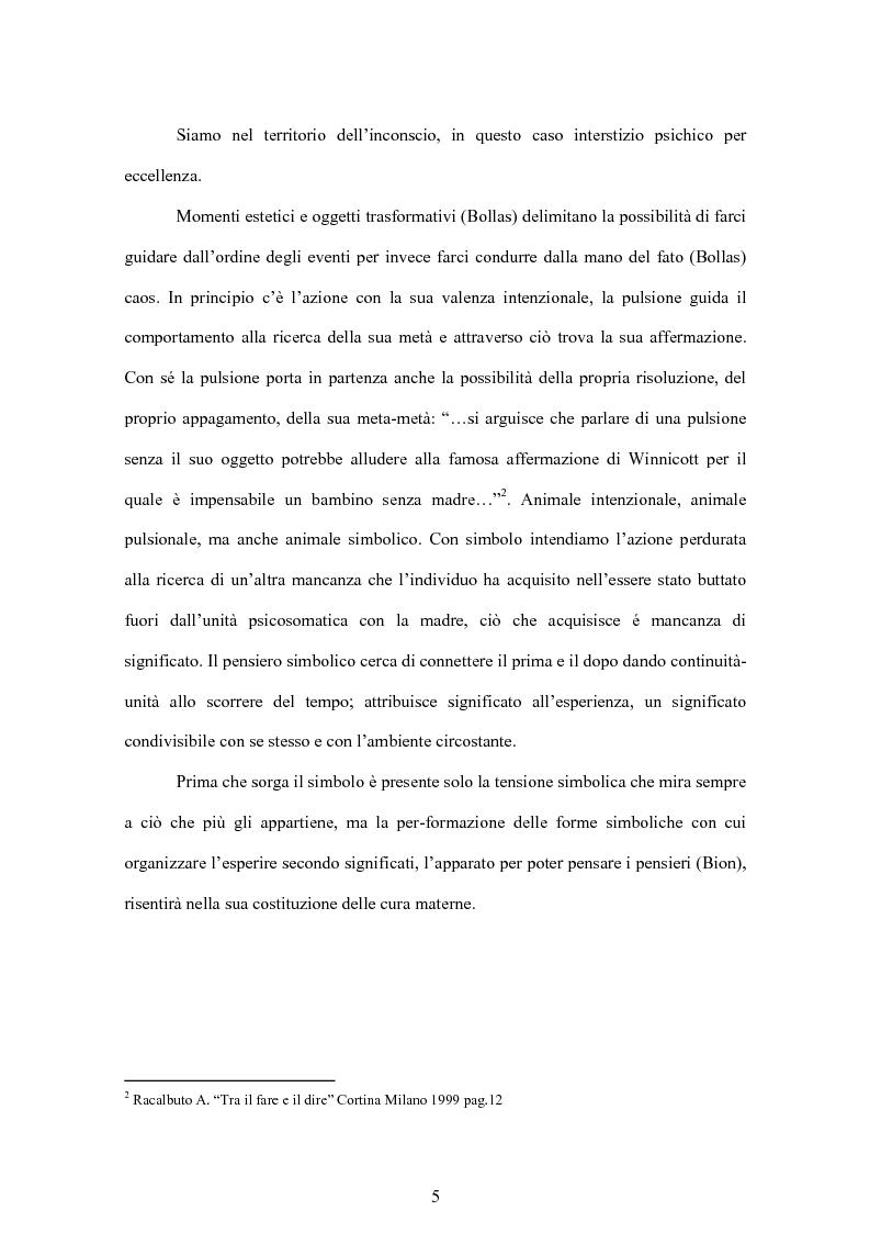 Anteprima della tesi: Tra forma e simbolo: l'inviolato in psicoanalisi, Pagina 2