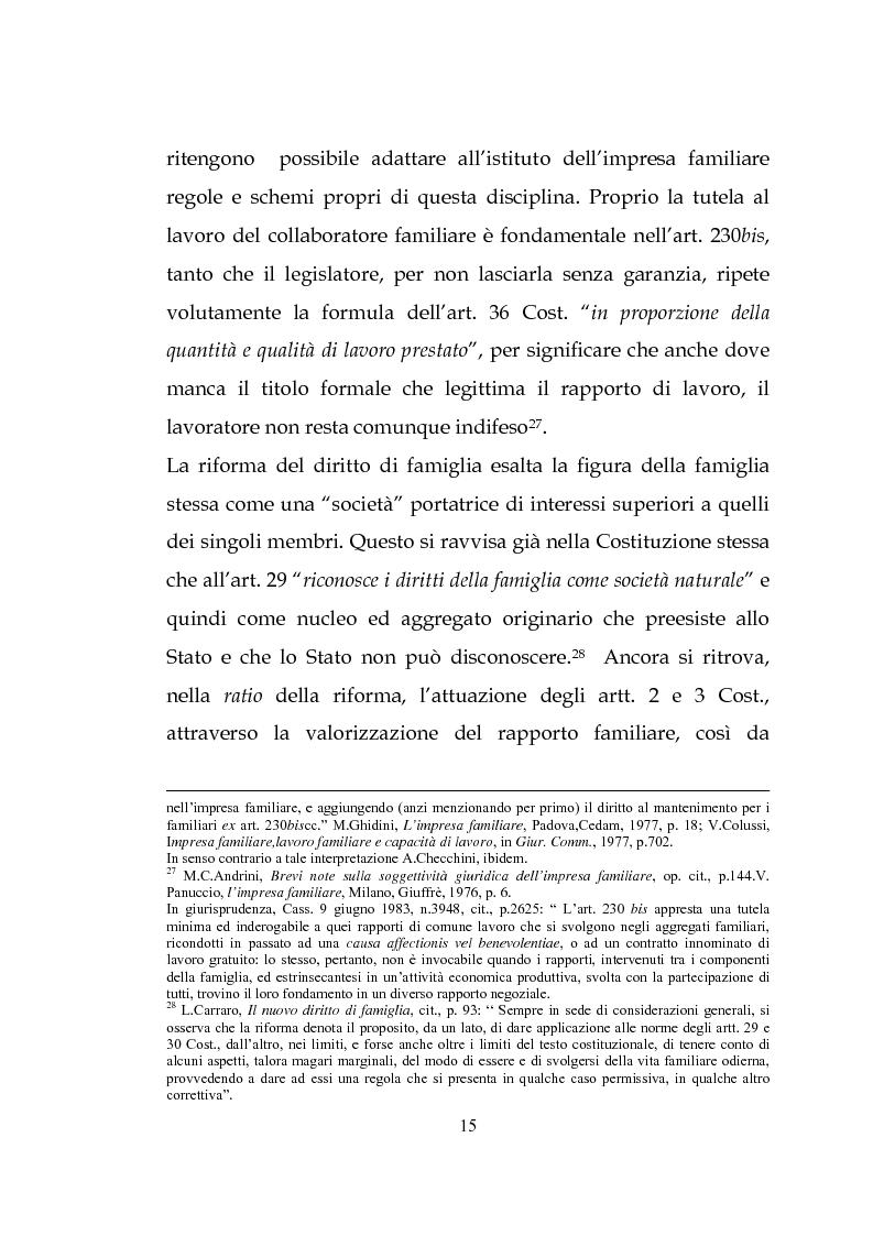 Anteprima della tesi: L'estinzione dell'impresa familiare, Pagina 15