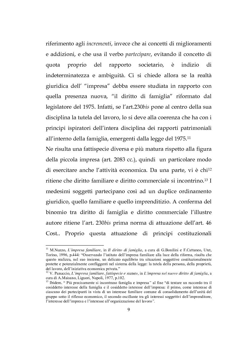 Anteprima della tesi: L'estinzione dell'impresa familiare, Pagina 9