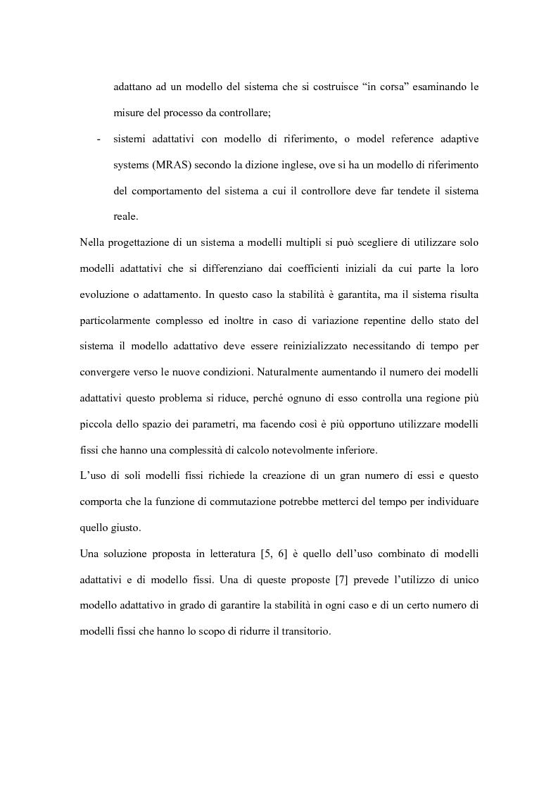 Anteprima della tesi: Controllo a commutazione con retroazione dall'uscita di processi incerti, Pagina 4