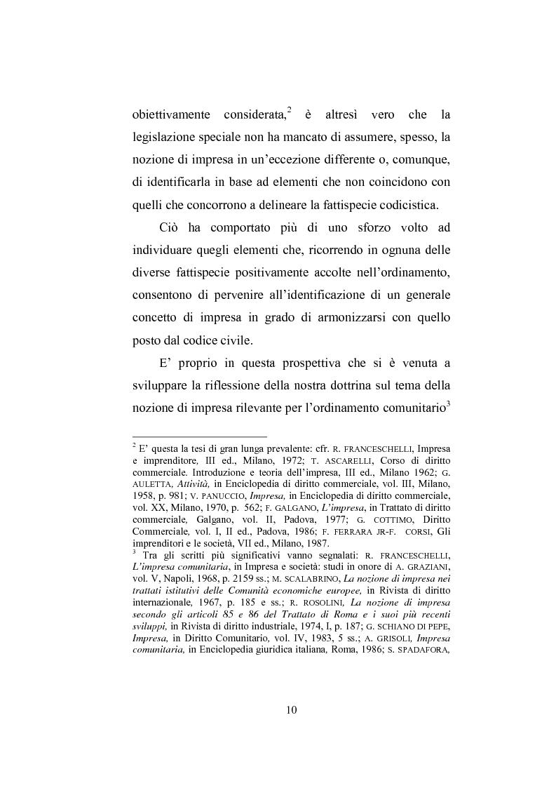 Anteprima della tesi: Il professionista intellettuale e la legge antitrust 287/90, Pagina 10