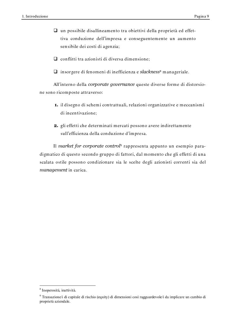 Anteprima della tesi: Corporate Governance e Performance Bancarie, Pagina 4