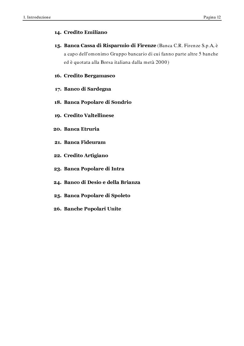 Anteprima della tesi: Corporate Governance e Performance Bancarie, Pagina 7