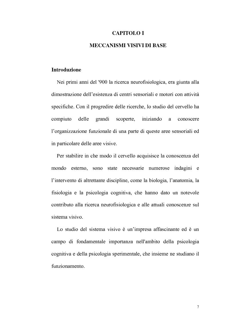 Anteprima della tesi: Ruolo dell'attenzione nella percezione visiva dell'orientamento, Pagina 3