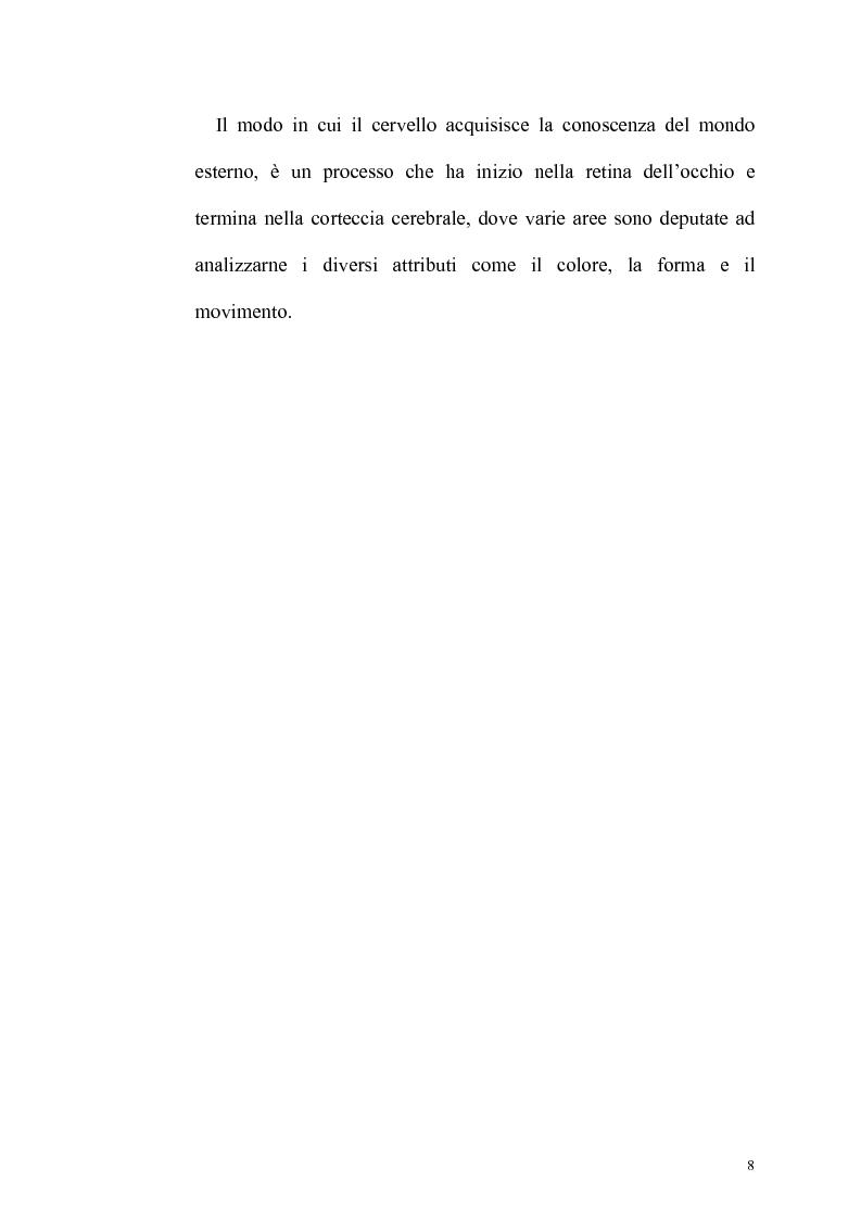 Anteprima della tesi: Ruolo dell'attenzione nella percezione visiva dell'orientamento, Pagina 4