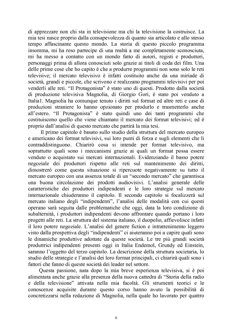 Anteprima della tesi: Le società di produzione televisive, Pagina 2