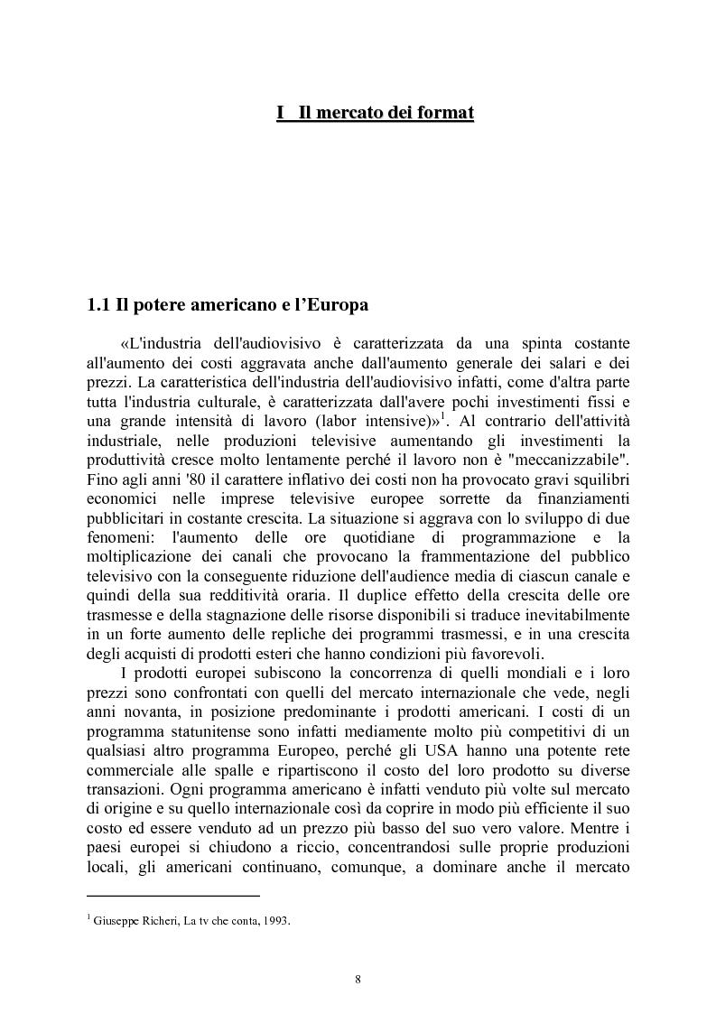 Anteprima della tesi: Le società di produzione televisive, Pagina 4