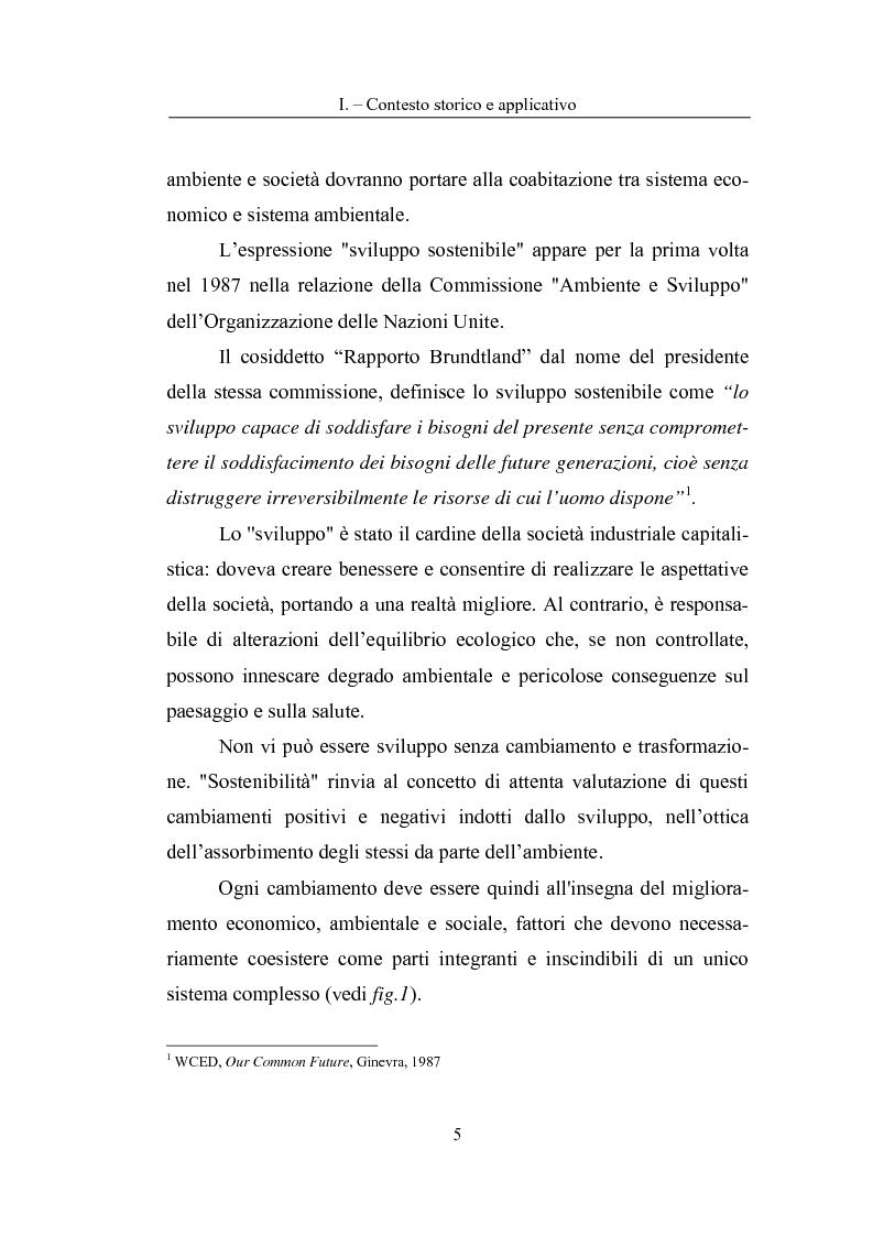 Anteprima della tesi: La Carta del Servizio Idrico Integrato nel sistema di Valutazione della Prestazione Ambientale, Pagina 3