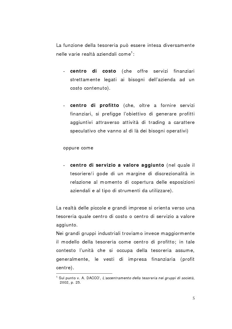 Anteprima della tesi: La direzione unitaria nel settore finanziario nei gruppi di imprese, Pagina 3